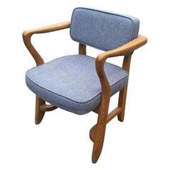 """Guillerme et Chambron, """"Denis"""" armchair Edition Votre Maison, circa 1970"""