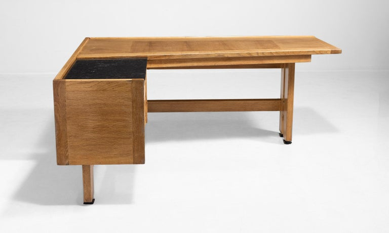 French Guillerme et Chambron Desk For Sale