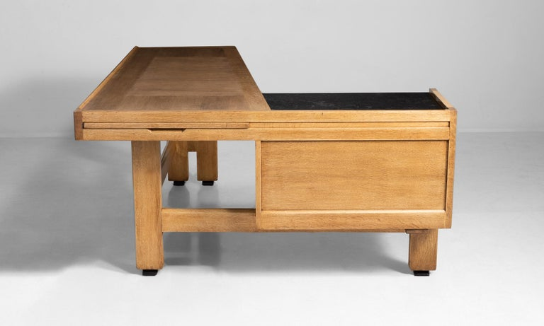 20th Century Guillerme et Chambron Desk For Sale