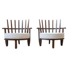 Guillerme et Chambron Easy Chairs