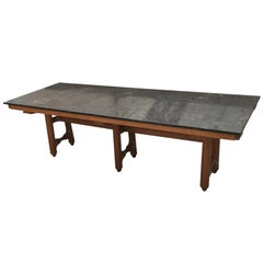 "Guillerme et Chambron Exceptional large table ""Gustave"", Edition Votre Maison"