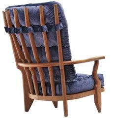 Guillerme et Chambron 'Grand Repos' Lounge Chair