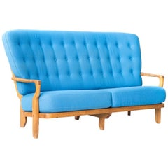 Guillerme et Chambron Grand Repos Settee Sofa Loveseat