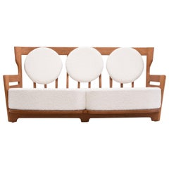 Guillerme et Chambron 'Juliette' Oak Sofa for Votre Maison