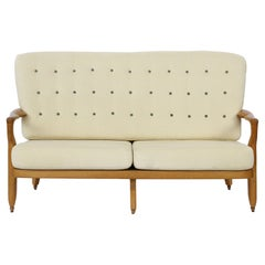 "Guillerme et Chambron ""Juliette"" Sofa in Oak, Edition Votre Maison"