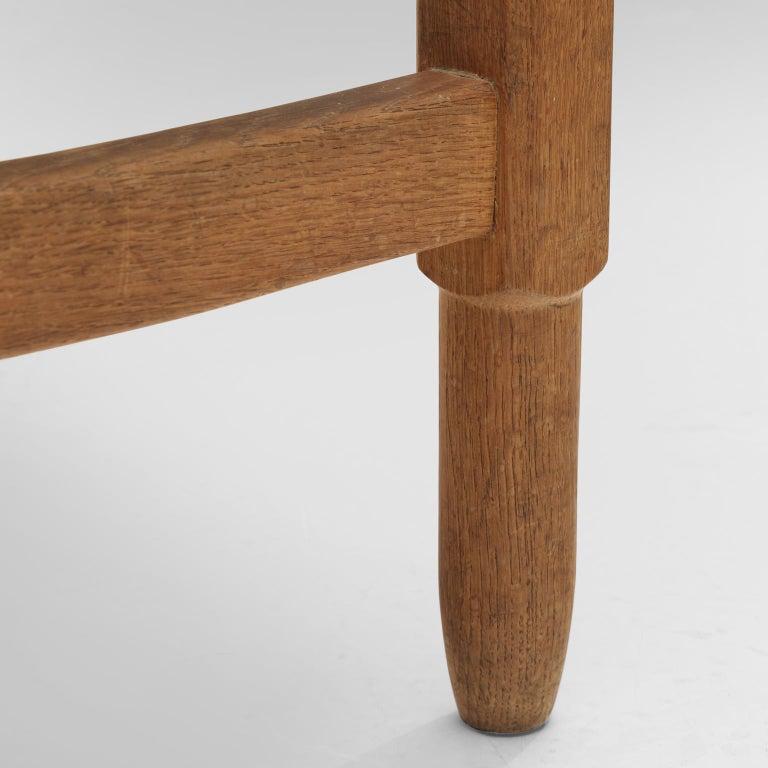 Guillerme et Chambron 'Lorraine' Chairs in Oak For Sale 3