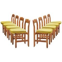 Guillerme et Chambron 'Lorraine' Chairs in Oak