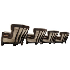 Guillerme et Chambron Lounge Chairs Model 'Denis'