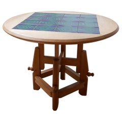 Guillerme et Chambron Metamorphic Coffee/Dining Table