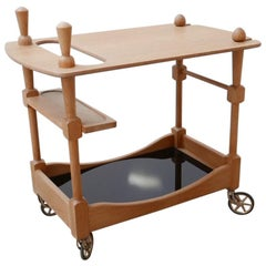 Guillerme et Chambron Midcentury French Drinks Trolley