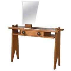 Guillerme et Chambron Oak Vanity Table