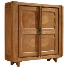 Guillerme et Chambron 'Raphael' Cabinet in Oak