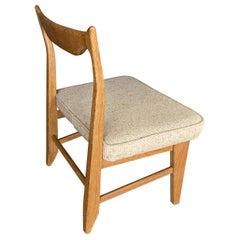 """Guillerme et Chambron, Rare Low Chair """"MARIE CLAIRE"""" Votre Maison Edition, 1970"""