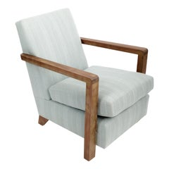 Guillerme et Chambron Reupholstered Armchair