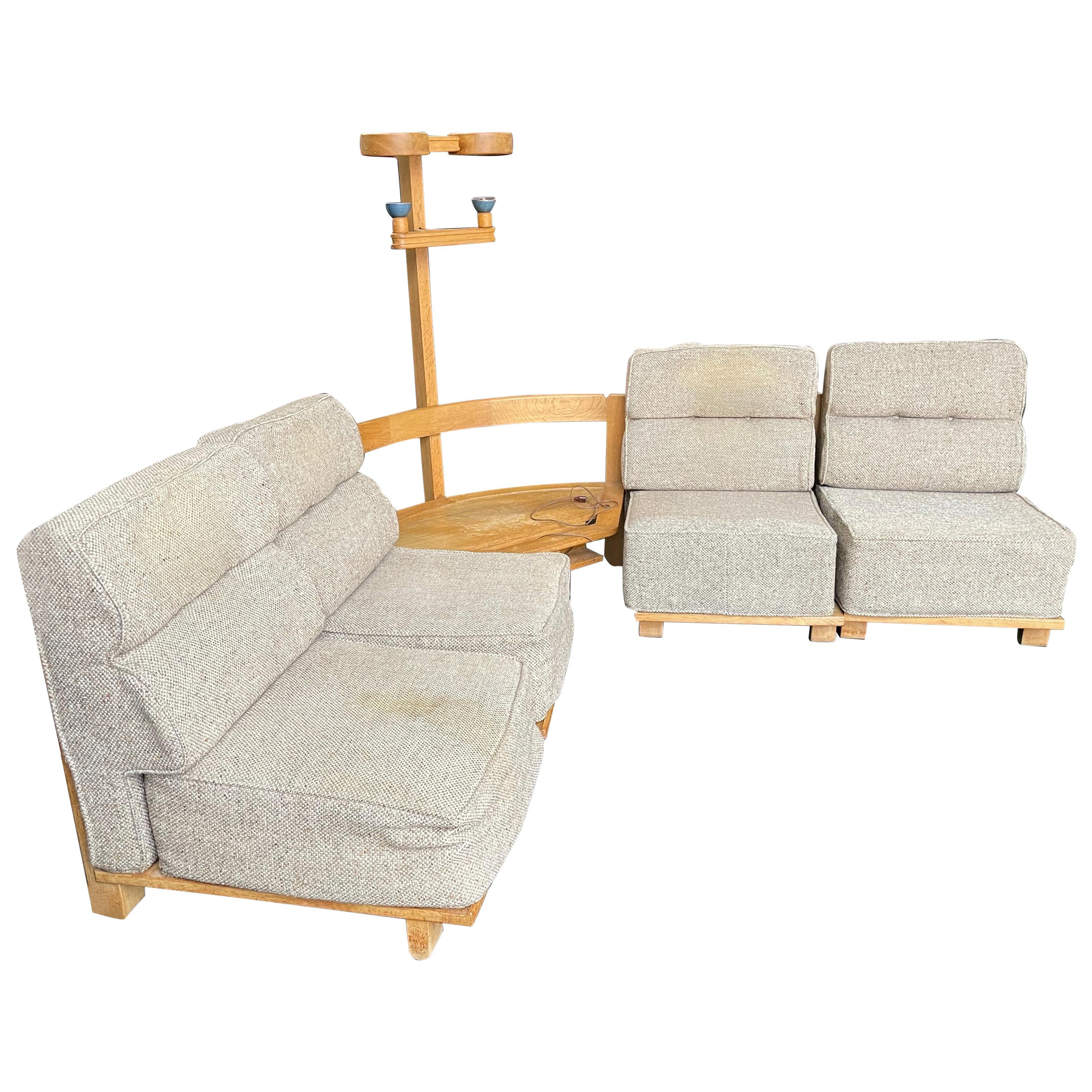 Guillerme et Chambron Sectional Sofas