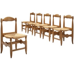 Guillerme et Chambron Set of Six 'Charlotte' Chairs
