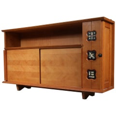 Guillerme et Chambron Sideboard, France, 1950
