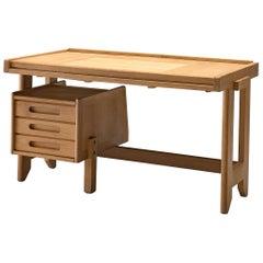 Guillerme et Chambron Small Desk in Oak