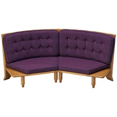 Guillerme et Chambron Sofa in Oak