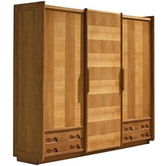 Guillerme et Chambron Wardrobe in Oak