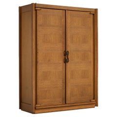 Guillerme et Chambron Wardrobe with Ceramic Handles