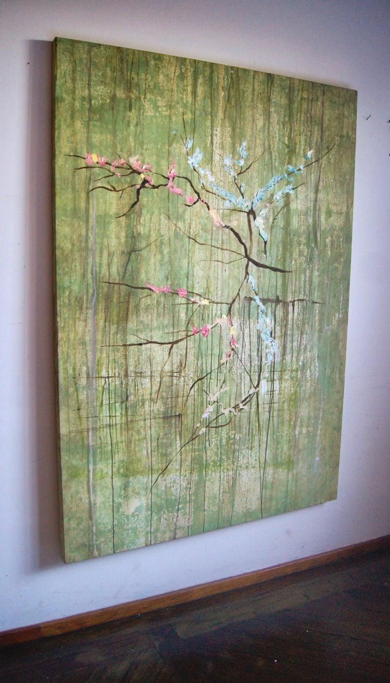 """Almendro en Flor"", Canvas For Sale 1"