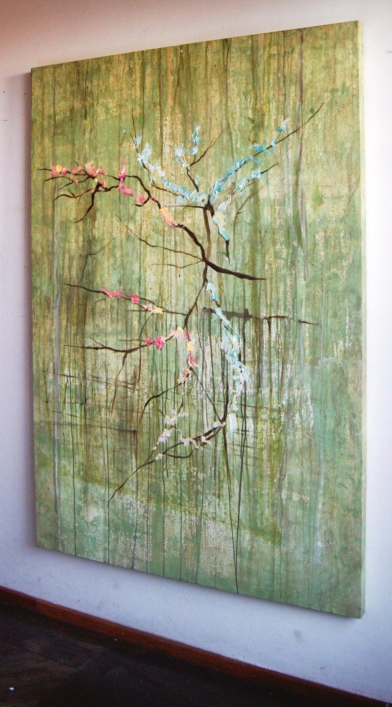 """Almendro en Flor"", Canvas For Sale 2"