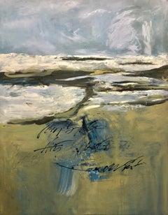Playa Junquiyal, Canvas, Oil paint