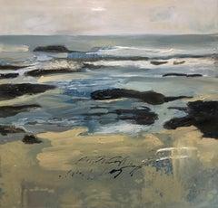 Playa Vieja, Canvas, Oil paint