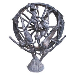 Guillermo Olguín Bronze Sculpture