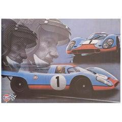 Gulf-Porsche 917, 1971 Swiss A1 Poster