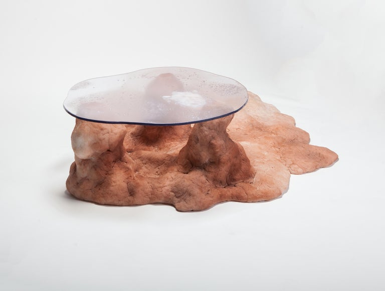 Organic Modern Gully Coffee Table by Elissa Lacoste for Everyday Gallery, 2019 For Sale