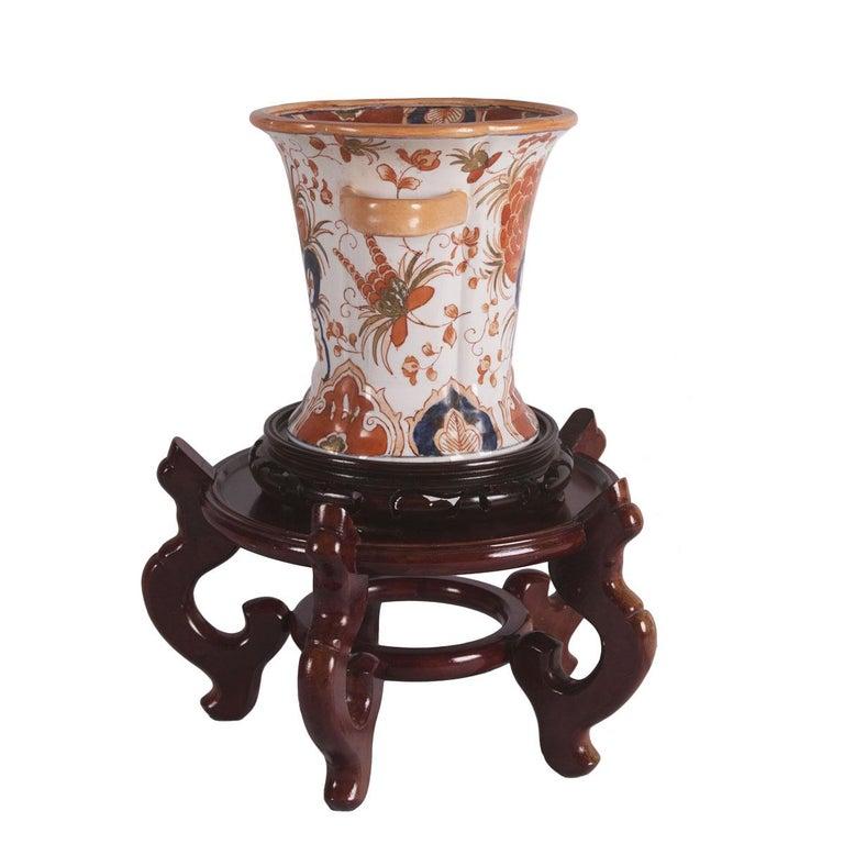 Women's or Men's Gump's Hand Painted Porcelain Vase