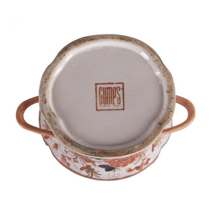 Gump's Hand Painted Porcelain Vase 1
