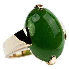Gump's Jade Ring Iconic and Scarce
