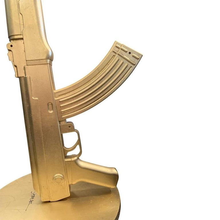20th Century Gun Table Lamp by Philippe Starck For Sale