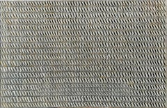 Grey Crosses by Gunda Jastorff -Geometric sailcloth, yellow, grey, black