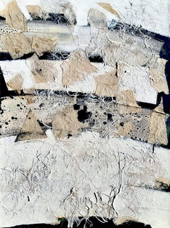 Intertwnined by Gunda Jastorff -Geometric sailcloth, yellow, grey, black