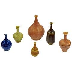 Gunnar Borg 100 Mini Stoneware Vases for Anderson & Johansson Höganäs