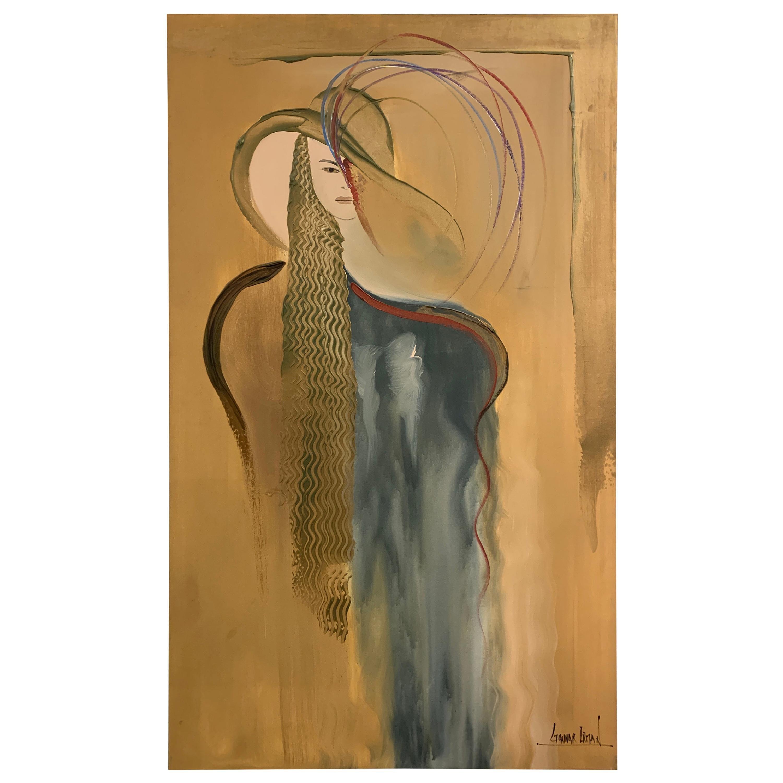 Gunnar Erman Lady in Gold