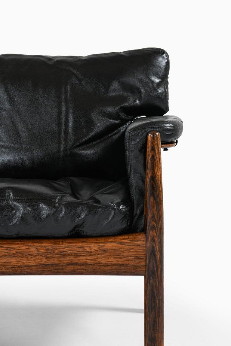 Sofa designed by Gunnar Myrstrand. Produced by Källemo in Sweden.