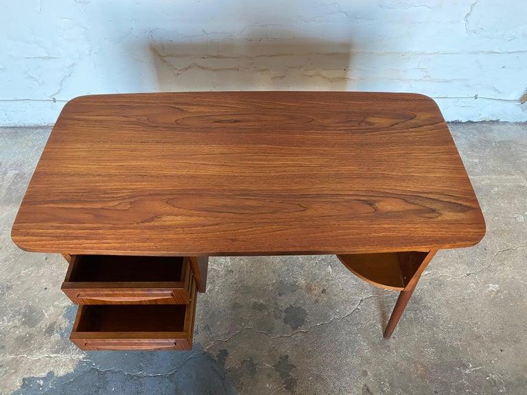 Gunnar Nelson Tibergaard, Lady Desk 1960s in Teak For Sale 3