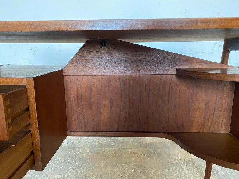 Gunnar Nelson Tibergaard, Lady Desk 1960s in Teak For Sale 5