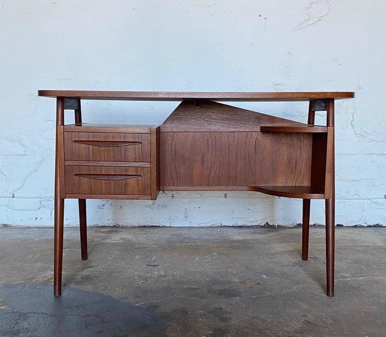 Gunnar Nelson Tibergaard, lady desk 1960s in teak.