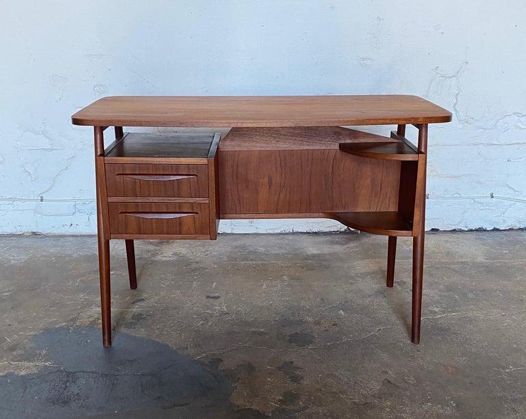 Scandinavian Modern Gunnar Nelson Tibergaard, Lady Desk 1960s in Teak For Sale