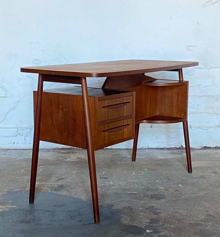 Danish Gunnar Nelson Tibergaard, Lady Desk 1960s in Teak For Sale