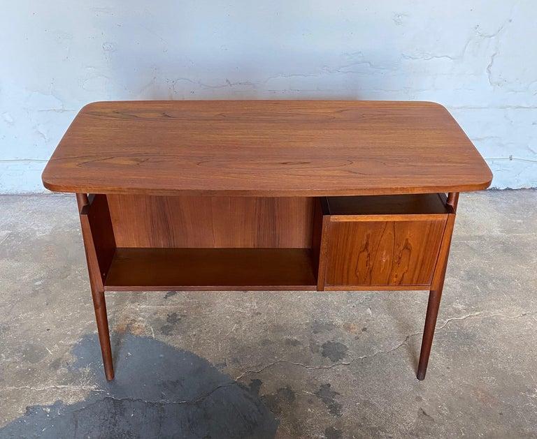 Mid-20th Century Gunnar Nelson Tibergaard, Lady Desk 1960s in Teak For Sale