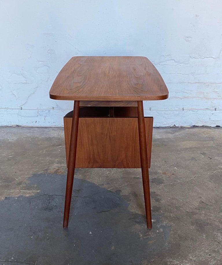 Gunnar Nelson Tibergaard, Lady Desk 1960s in Teak For Sale 1
