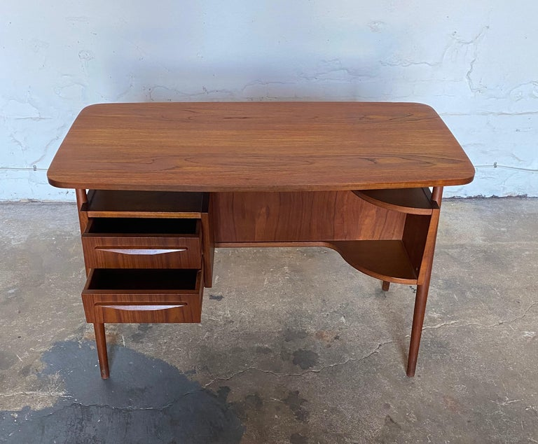 Gunnar Nelson Tibergaard, Lady Desk 1960s in Teak For Sale 2