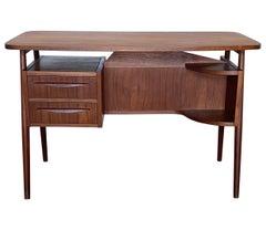Gunnar Nelson Tibergaard, Lady Desk 1960s in Teak